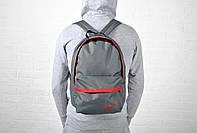 Городской повседневный рюкзак найк (Nike), серый