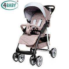 Детская прогулочная коляска 4Baby Guido Brown