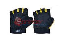 Перчатки без пальцев сетка + махра. Размер: М.