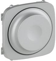 Лицевая панель светорегулятора поворотного алюминий 752047 Legrand Valena Allure