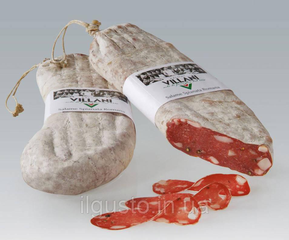VILLANI Salame Spianata Romana - Салями  спьяната романа, 1 kg - Balzano-food в Ужгороде
