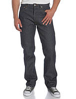 Джинсы мужские Levis Strauss 501 Button Fly Original Jeans Shrink-to-Fit Rigid Indigo, фото 1