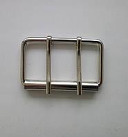 Пряжка литая 50 мм, никель