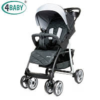Детская прогулочная коляска 4Baby Guido Dark Grey