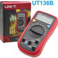 Цифровой мультиметр UNI-T UT136B, портативный тестер мультиметр