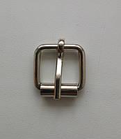 Пряжка лита 16 мм нікель