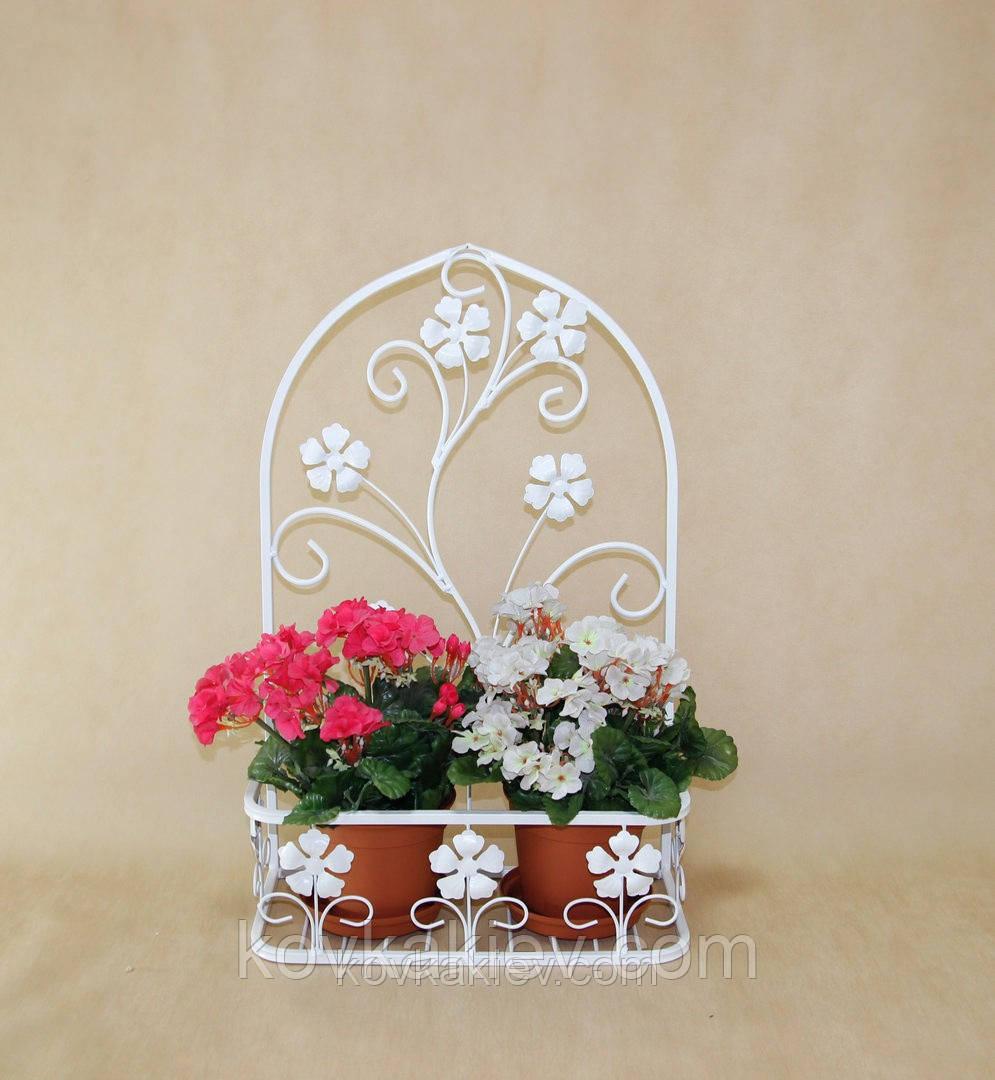 Подставка цветочная подвесная Мальва 02 малая., фото 1