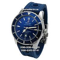 Часы Breitling SuperOcean Heritage 46mm Blue/Silver. Реплика: AAA