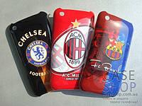 Пластиковый чехол «Клубы» для Apple iPhone 3G / 3GS