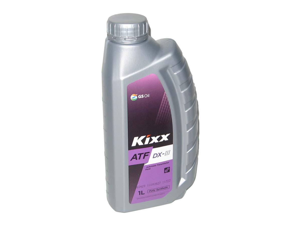 Масло для АКПП/ГУР KIXX ATF DX-III 1л