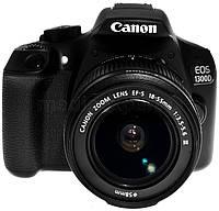 Цифровой фотоаппарат CANON EOS 1300D 18-55 + 75-300 + Рюкзак + SD 8GB + 100GB Irista