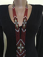 Гердан намисто українське з бісеру ручної роботи, фото 1