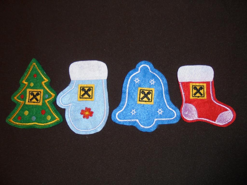Наборы ёлочных игрушек из фетра