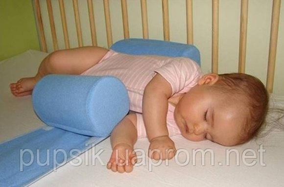 Подушка-ограничитель позиционер для новорожденных Олви
