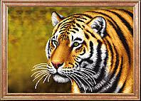 Схема для вышивания бисером Тигр