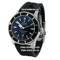 Часы Breitling SuperOcean Heritage 46mm Black/Silver. Реплика: AAA