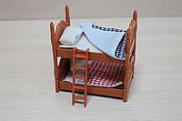 Набор мебели 2-х ярусная кровать в коробке 15*8*7 см