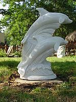 Скульптура дельфинов С - 204