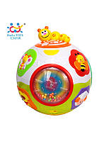 Развивающие и обучающие игрушки «Huile Toys» (938) Счастливый мячик (звук. эффекты)