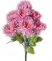 Букет искусственных цветов Хризантема махровая (гигант) , 60 см