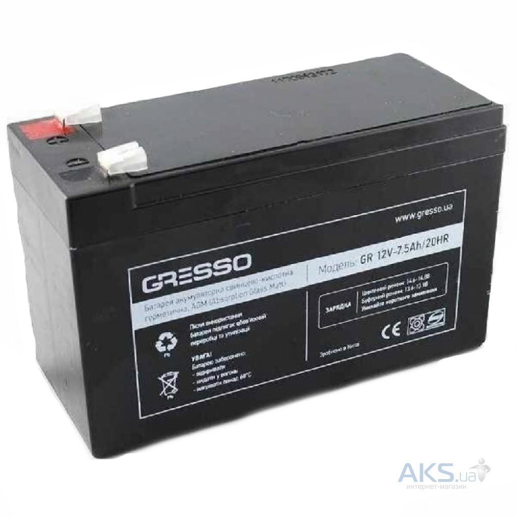 Аккумулятор для ИБП Gresso 12V 18Ah (GR12V-18Ah)
