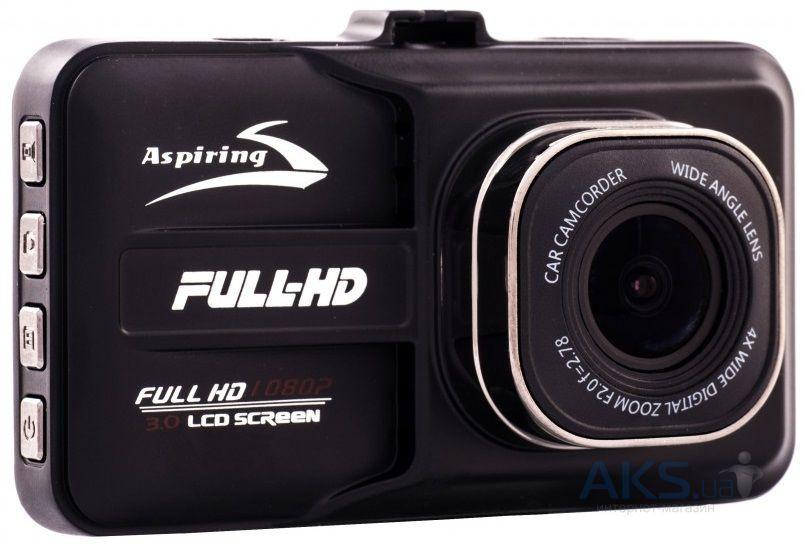 Видеорегистратор Aspiring AT180 + Карта памяти ADATA 32ГБ + SD адаптер в подарок!