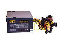 Блок питания GTL 500W / 120mm / 4xSATA / Molex 2x4pin / 20+4pin + 4+4 / 1x6pin / 1.2M шнур питания
