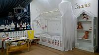 Комната для двух девочек из массива ольхи и МДФ