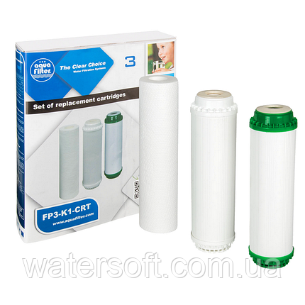 Комплект картриджей Aquafilter FP3-K1-CRT, фото 2