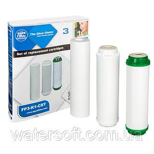 Комплект картриджів Aquafilter FP3-K1-CRT