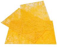 Сизаль пресованная Желтый Сизалевый лист  20x30 см А4 1 шт