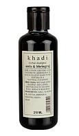 Шампунь Кхади Амла - Брингарадж, shampoo Khadi amla - bhringraj, 210 мл