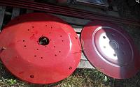 Тарелка верхняя, нижняя для косилки роторной Wirax 1,65
