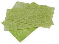 Сизаль пресованная Оливковый Сизалевый лист  20x30 см А4 1 шт