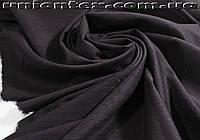 Костюмная ткань стрейч полоска баклажановая (Турция)