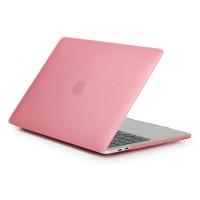 Пластиковый чехол Soft Touch Matte Pink для Macbook Pro 13'' (2016  2018))