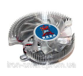 Вентилятор VGA Cooling Baby QQ SMALL, для видеокарт, 3500 об/мин, 22 дБ, 60х60х15 мм, SB 2-pin, термопаста