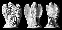 Ритуальные ангелы. Скульптура ангела из полимера №231  (31*24 см)
