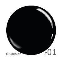 Лак для ногтей 10 мл G. Lacolor Stamping Nail ART 01