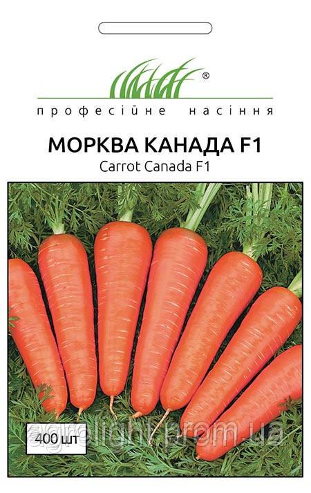 "Семена Морковь Канада 400 шт,  ТМ ""Bejo Zaden ""(Голландия)"