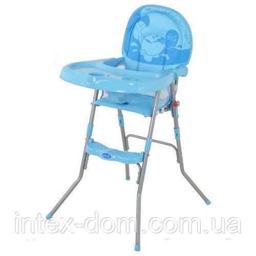 Стульчик для кормления Bambi GL 217 голубой