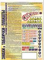 Информационные знаки, таблички по охране труда