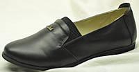 Туфли женские кожаные на средний подъем, женская кожаная обувь от производителя модель НТ12
