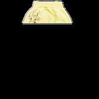 Штанишки на широкой резинке с начесом р. 80-86  ткань ФУТЕР 100% хлопок ТМ Алекс 3179 Желтый1 80