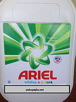 Гель для стирки ARIEL 10 L WHITES+COLORS MOUNTAIN SPRING (195 ПР) Бельгия