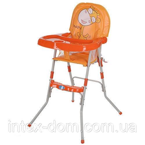 Стульчик для кормления Bambi GL 217-7 оранжевый