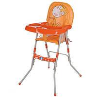 Стульчик для кормления Bambi GL 217-7 оранжевый, фото 1