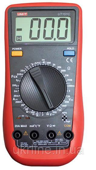Мультиметр универсальный UT151C, портативный цифровой тестер - Интернет-магазин UkrLine в Киеве