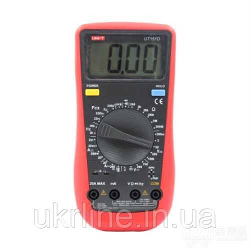 Цифровой мультиметр UNI-T UT151D, портативный многофункциональный тестер - Интернет-магазин UkrLine в Киеве