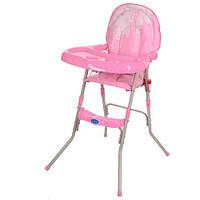 Стульчик для кормления Bambi GL 217-8 розовый, фото 1